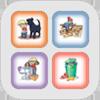Ole og Mia appikon, gå til iTunes / App Store